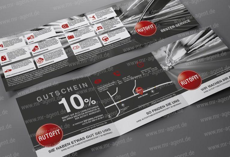 Autofit Bernau Flyer | Design Agent