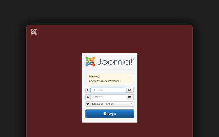Joomla Passwort ändern | mr-agent.de