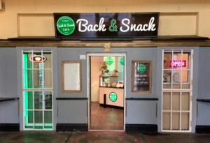 Außenwerbung Back und Snack | Design Agent