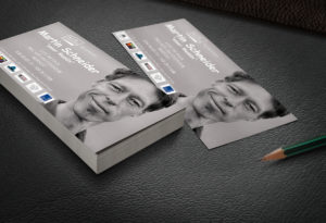 Martin Schneider Flyer | Design Agent