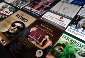 Flyer Design und Printproduktion | Design Agent