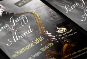 Flyer Design Harmonie Safari | Design Agent
