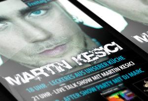 Flyer Design Martin Kesici | Design Agent