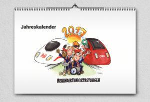 Deutsche Bahn Jahreskalender | Design Agent