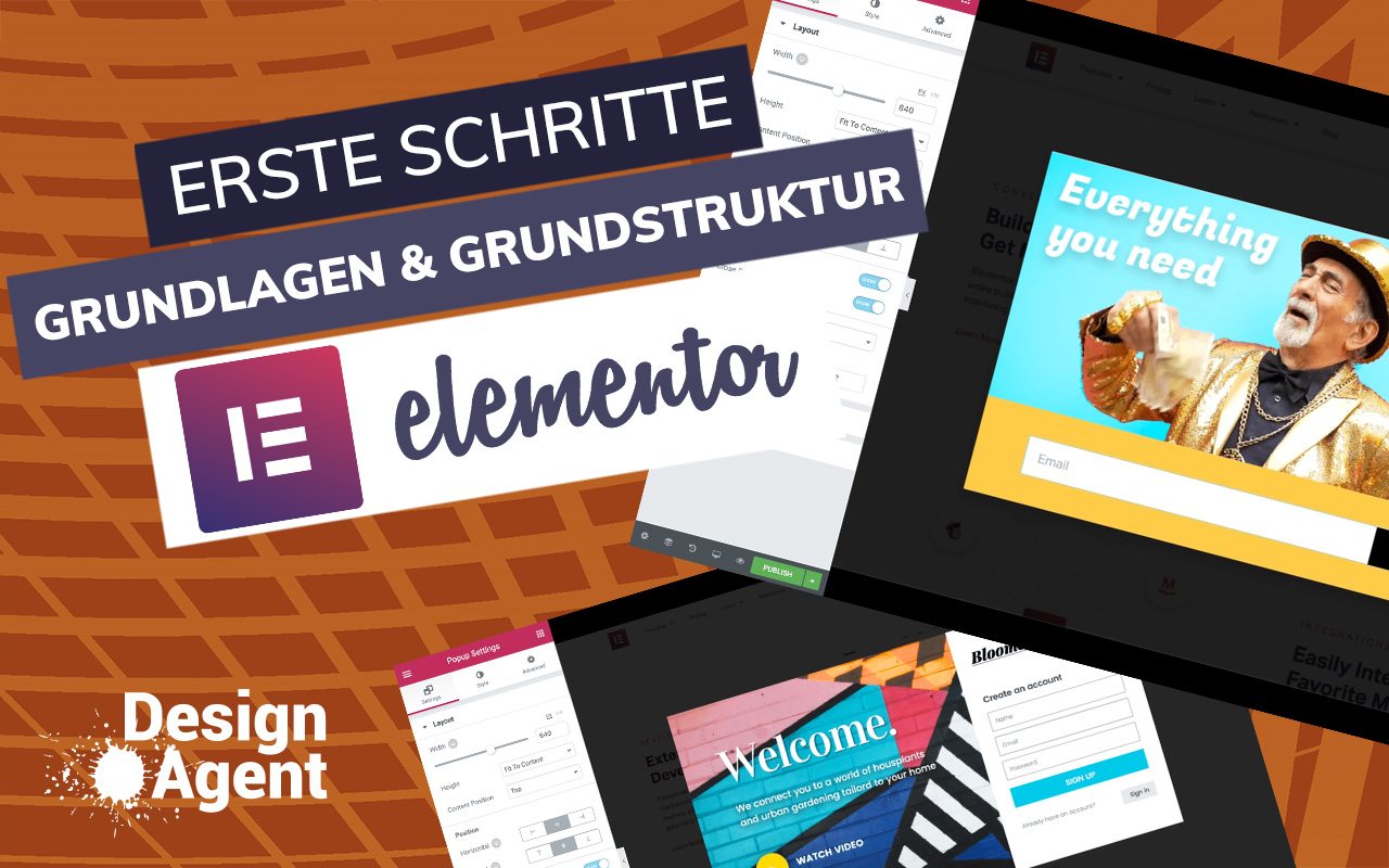 Erste Schritte Elementor WordPress | Design Agent